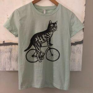 Cat Bicycle Tee